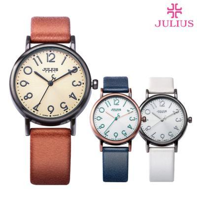 줄리어스 여성 가죽 시계 JA-911 피에르(4color)
