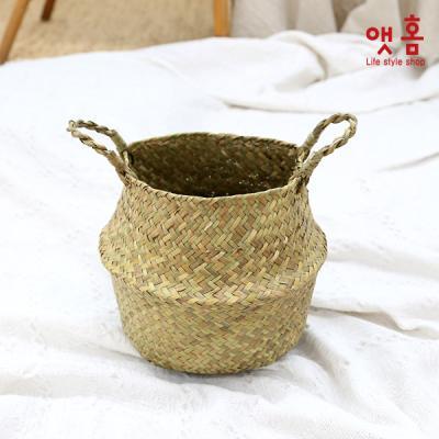 앳홈 플래니 라탄 해초바구니 스몰