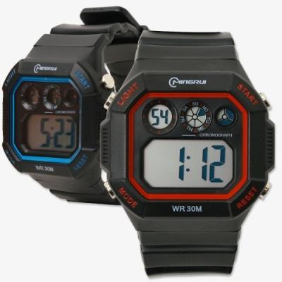 포포팬시 컬러라인 전자 손목시계