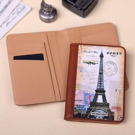 passport cover_The Eiffel Tower