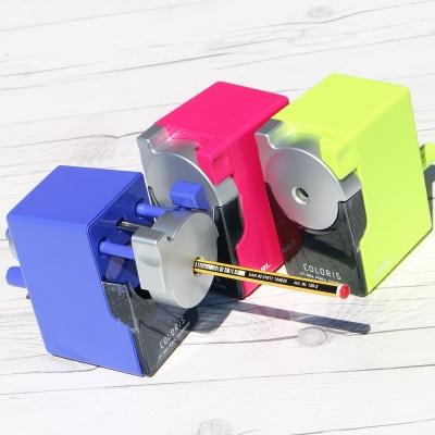 고무지퍼 채용..카알 심조절 장치 연필깎이 Coloris