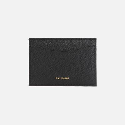 REIMS W018 루프 미니 카드 지갑 블랙