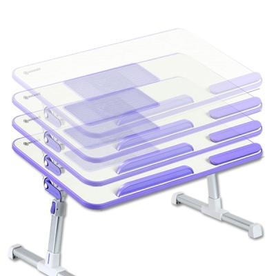 [BEAT] 베드트레이 냉각 쿨링팬 테이블 (그레이)