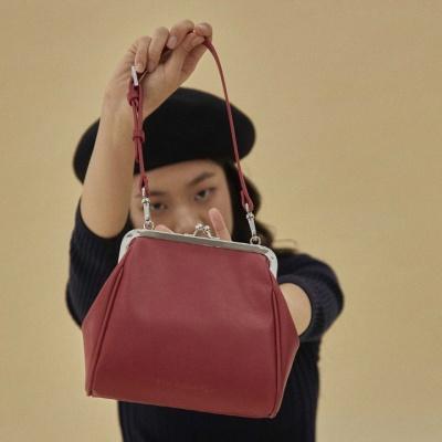 [펀프롬펀]Olsen frame mini bag (red)