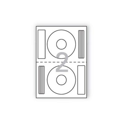 CD DVD용라벨(IJ 3642P 100매 한국폼텍)