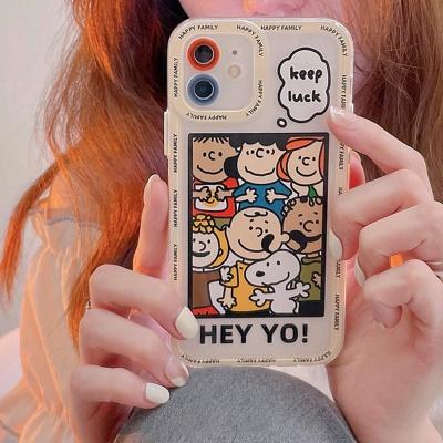 아이폰12 11 pro max xs 8 강아지 캐릭터 젤리 케이스
