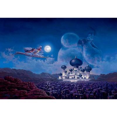 [텐요] 직소퍼즐 / 1000조각 / 디즈니 시리즈 - 알라딘 플라이트 오버 아그래버 / D-1000-423 / 야광퍼즐 / 일본직수입 / 무료배송