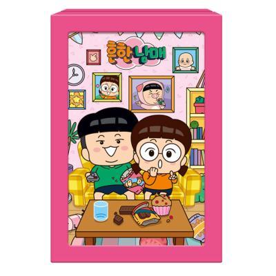 108피스 액자퍼즐 - 흔한남매 집콕생활 DW746566