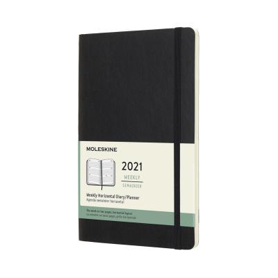 몰스킨 2021위클리(가로형)/블랙 소프트 L