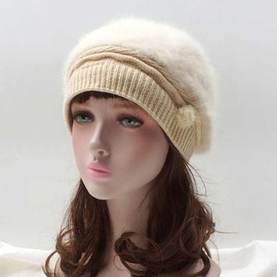 Mujer Invierno knit ribbon 모자 4color CH1653535
