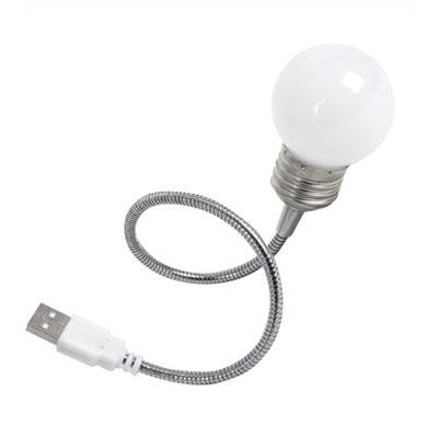 [발비] 전구형 미니 USB 램프