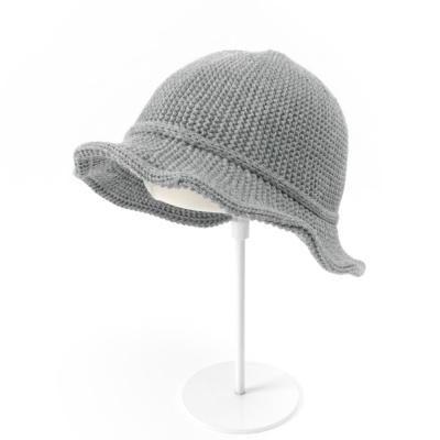 [베네]울 라인포인트 트임 벙거지 모자