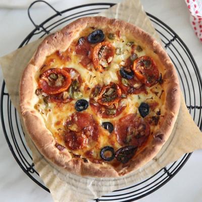 수제 피자 4종