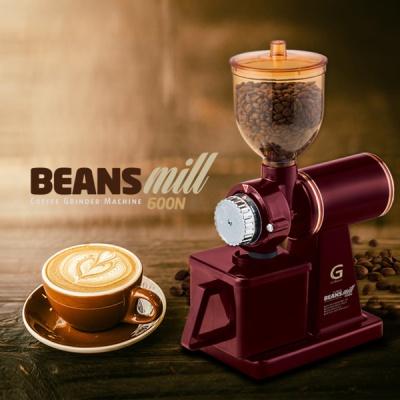 빈스밀 600N 커피 전동 그라인더 (브라운색상)