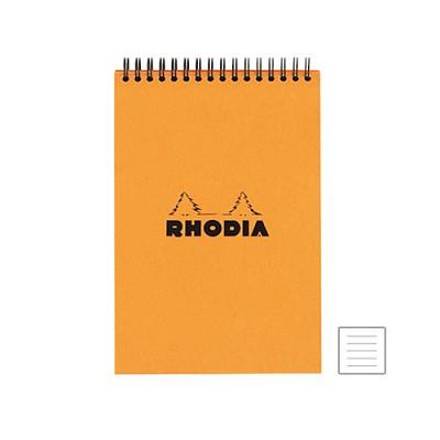 [로디아]스프링 노트패드 A5(오렌지) 줄지 16501