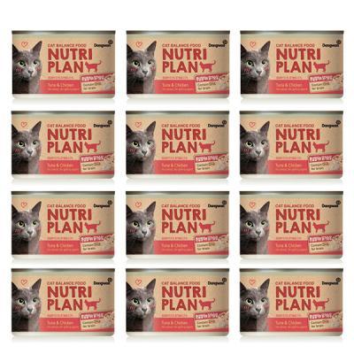 뉴트리플랜 흰살참치&닭가슴살 (160g) X 12개입