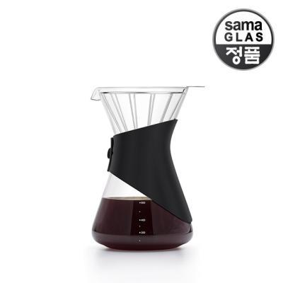 사마글라스 일체형 핸드드립 커피세트 FT003