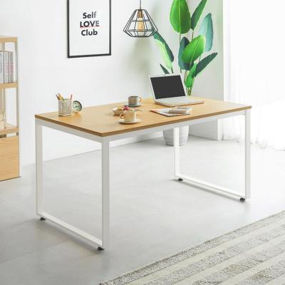 철제 1인용 일자형 책상 테이블 1200 22T (사각다리)