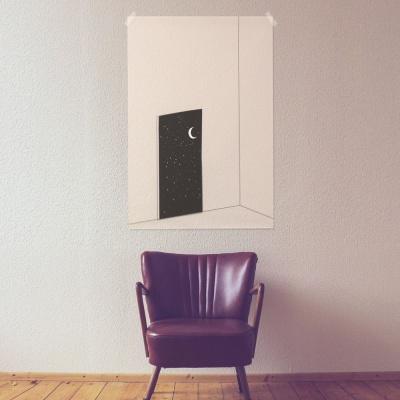 [전구증정] 문열면 우주 패브릭 포스터