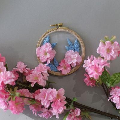 이본느모건 포시즌가든 투명자수 시리즈 - 벚꽃