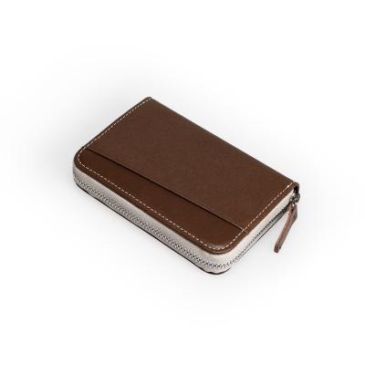 Take Pocket(지퍼형카드지갑) 태닝네츄럴