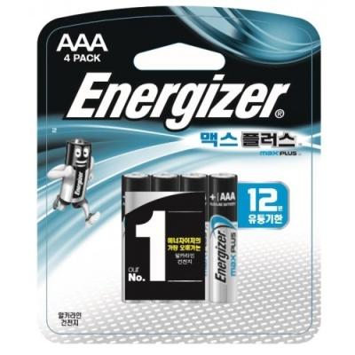 [에너자이저] 에너자이저 맥스플러스 AAA4P [판/1] 375546