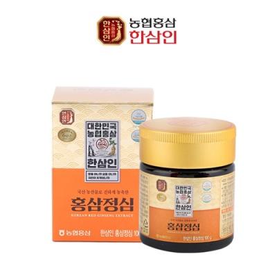 [한삼인] 6년근 고려 홍삼정심 100g(병)