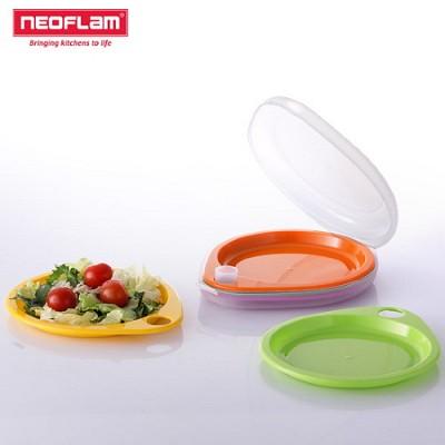 네오플램 드롭렛 피크닉 접시세트 (접시5p + 보관케이스)