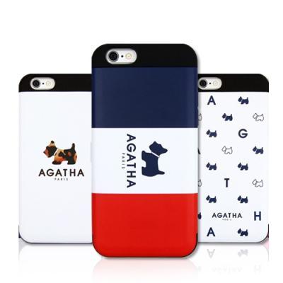[AGATHA] 아가타 카드 이중 범퍼 케이스  - 아이폰6/6S/6플러스