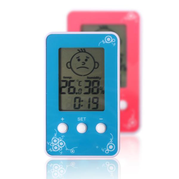 스마일 베이비 디지털 온습도계 DM-3190