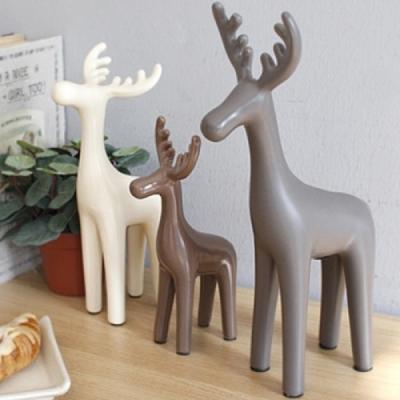 북유럽 스타일 사슴 장식소품 셋트 추카추카넷