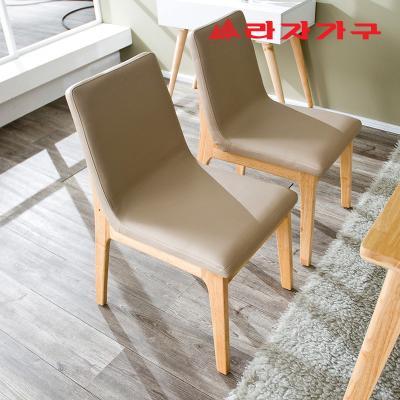 울런 원목 식탁 의자
