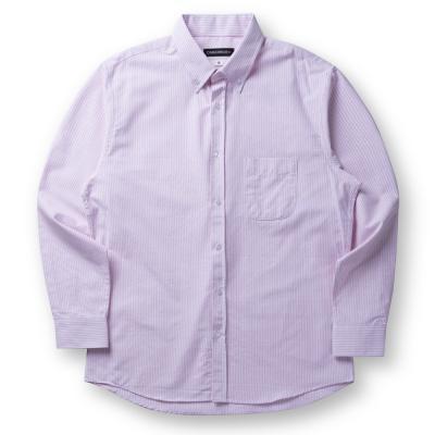 CB 오버핏 옥스포드 셔츠 (핑크)