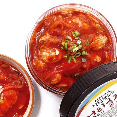 [맛있는통영] 통영 어리굴젓 500g + 500g (총 1kg)