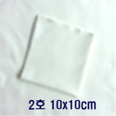 Klaren광학렌즈 악기등 정밀표면 세척천 10*10cm 2호