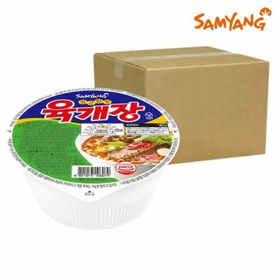 삼양 육개장 컵라면 24개