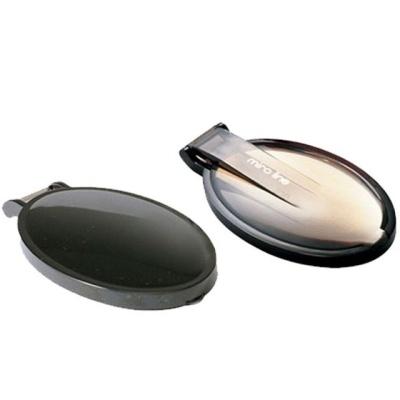 컴팩트 블랙 타원형 메이크업 손거울 58x12x93mm