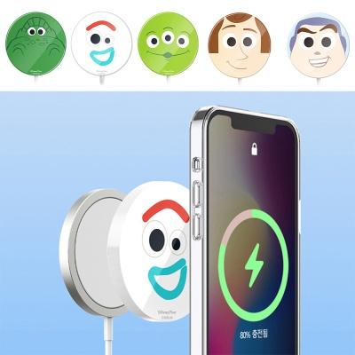 맥세이프 애플 무선 충전기 토이스토리 하드 케이스