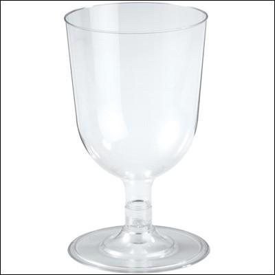 투명플라스틱 와인잔