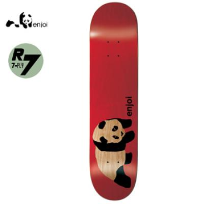 [enjoi] ORIGINAL PANDA RED R7 DECK 8.5
