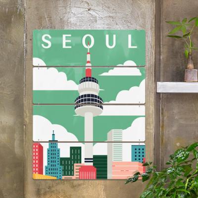 nl716-서울과부산랜드마크일러스트(4단대형)