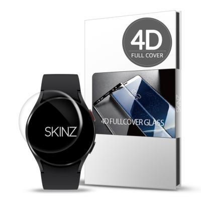 스킨즈 갤럭시워치4 4D 풀커버 강화유리필름 40mm 1매