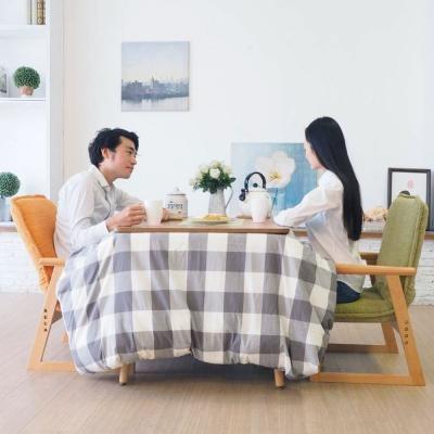 히다마리 라쿠바 2인용식탁 원목테이블