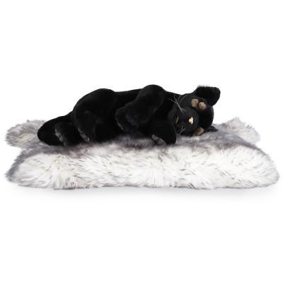 4748번 잠자는 흑표범 Panther Black Cub Sleeping/40cm.H