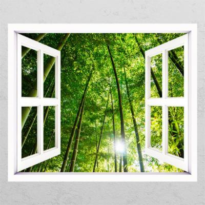 cg101-싱그러운숲속길_창문그림액자