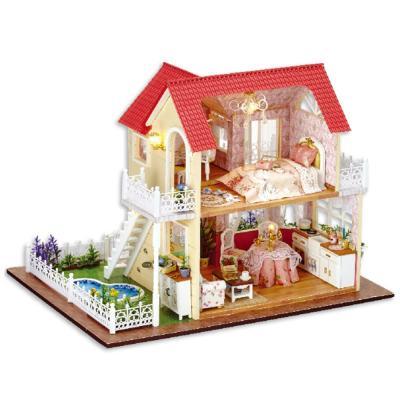 [adico]DIY 미니어처 풀하우스 - 카멜라의 2층집