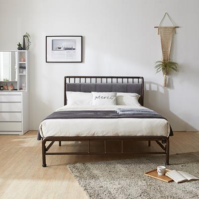 퍼피노 블랑 원터치 철제 퀸 침대세트 nm233