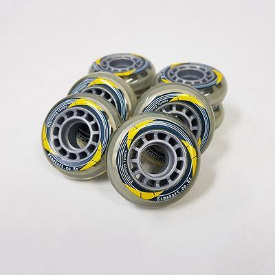 Kimskart 인라인스케이트 바퀴 64mm 8개세트