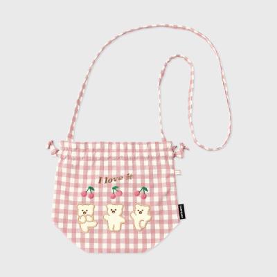 I love it nini-pink(스트링 크로스백)