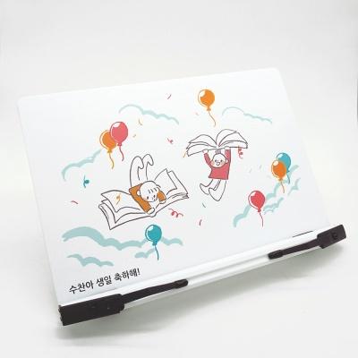봄이랑 주문제작 독서대 사각 white